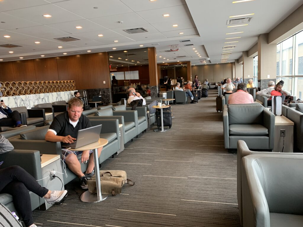 American Airlines lounge