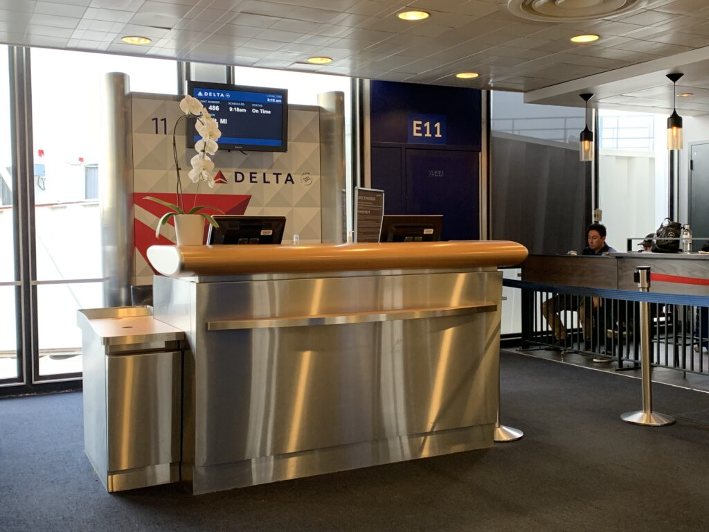 Delta Airlines Gate