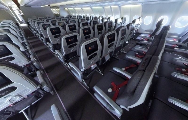 Airbus A330 cabin