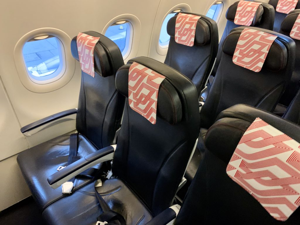 Air France A320 seating