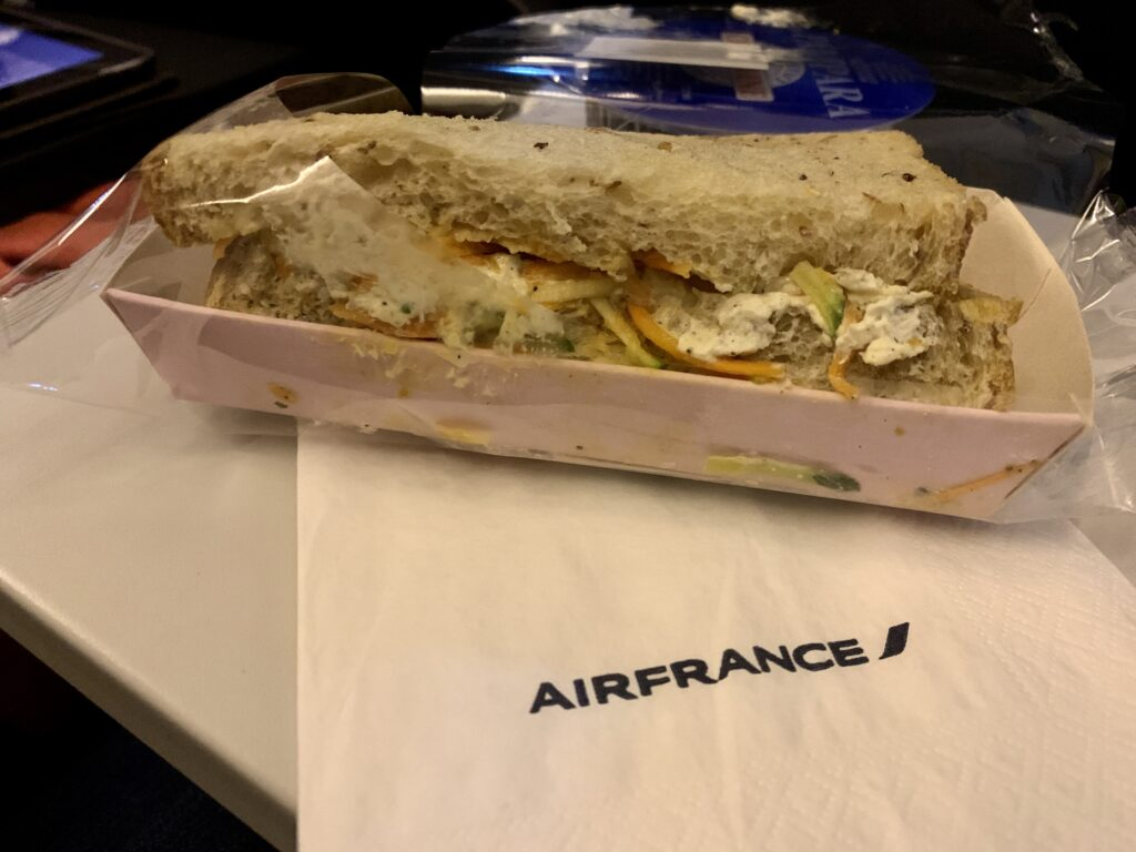Air France catering