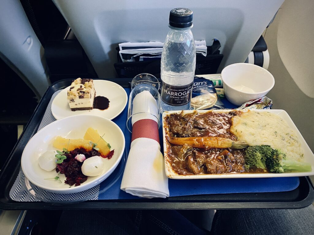 World Traveller Plus Meal