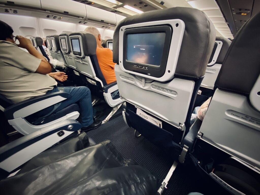 American A330 seating