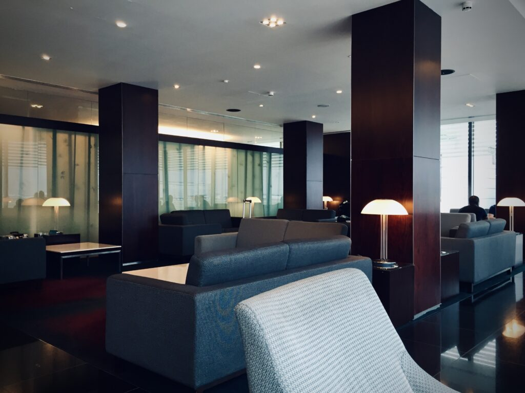 The previous Cathay Pacific Lounge as seen in 2015