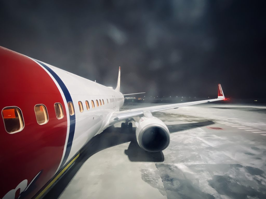 Norwegian air 737