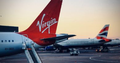 Virgin Atlantic And British Airways Manchester 2013