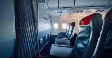 Austrian Airlines Cabin