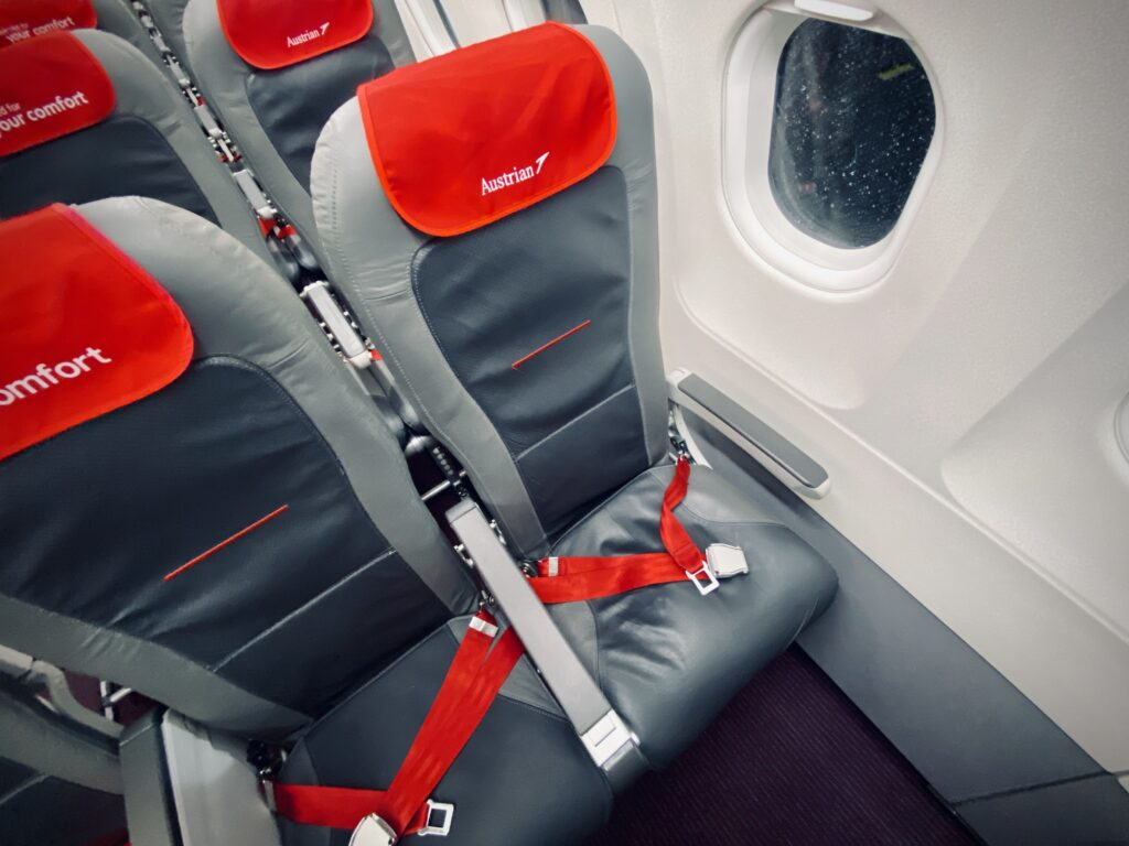 Austrian Airlines Seating