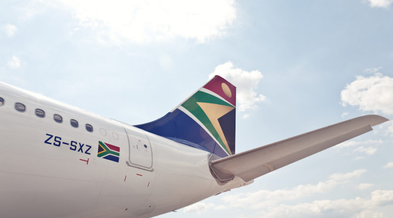 South African Airways tail