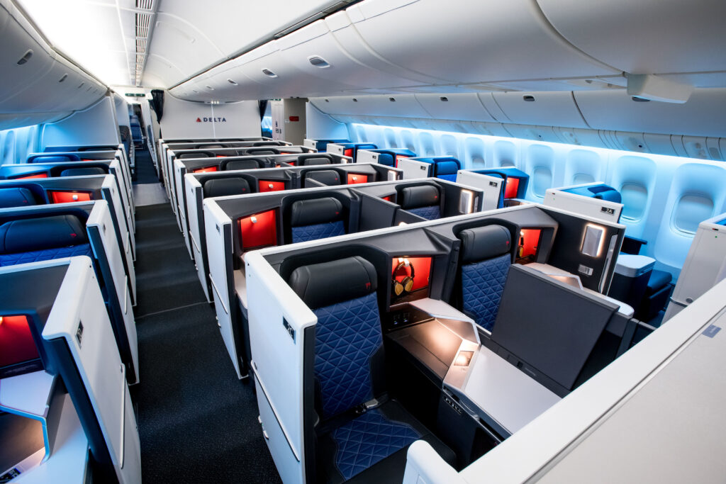 Delta Airlines 777 One Suite