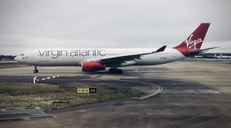 Virgin Atlantic A330 at Gatwick