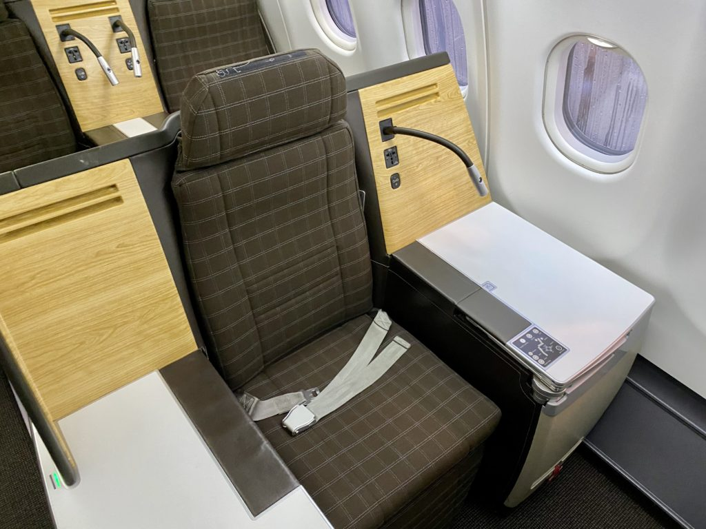 Swiss Business Class Seating
