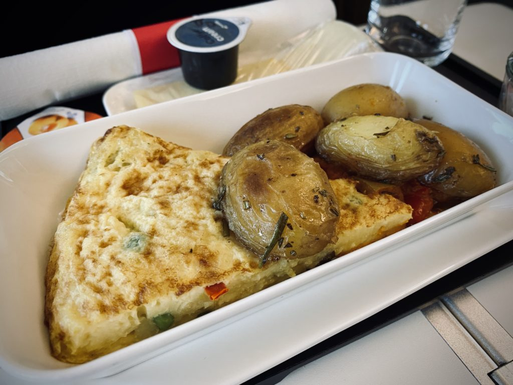 Swiss Business Class Catering