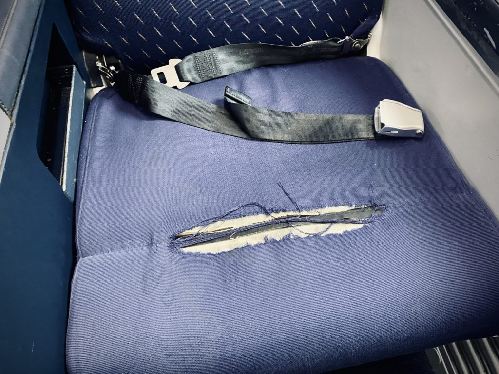LOT Polish 737 seating