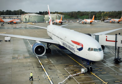 British Airways Gatwick Boeing 777