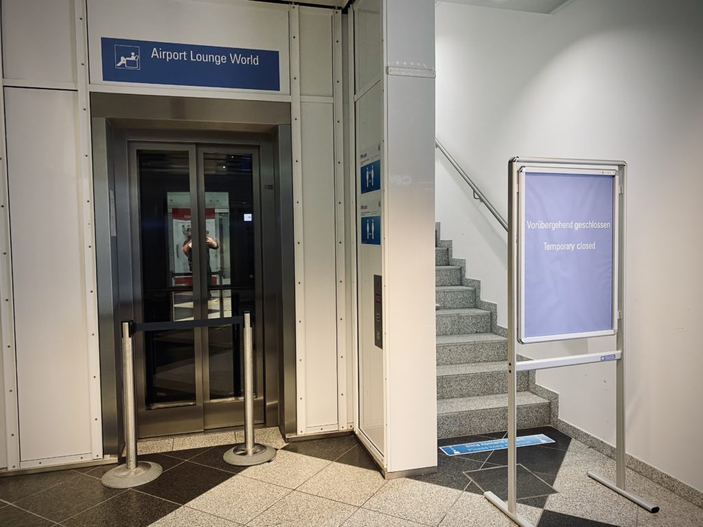 No lounge for Club Europe in Munich