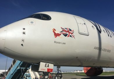 Virgin Atlantic A350 names have appeared online